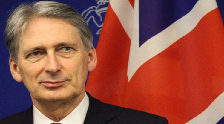 Chancellor of the Exchequer, Phillip Hammond