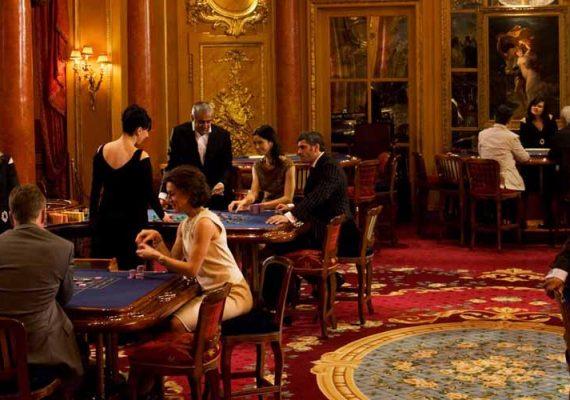 Gaming club in Paris.