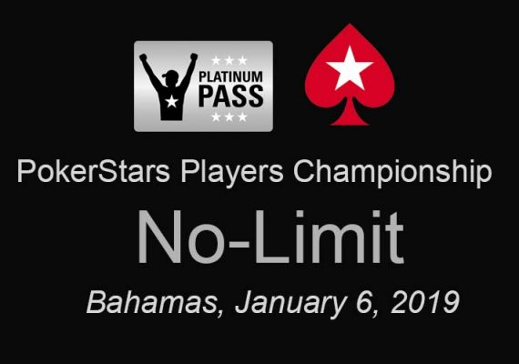 PokerStars, PLayers Championship, No Limit, Bahamas