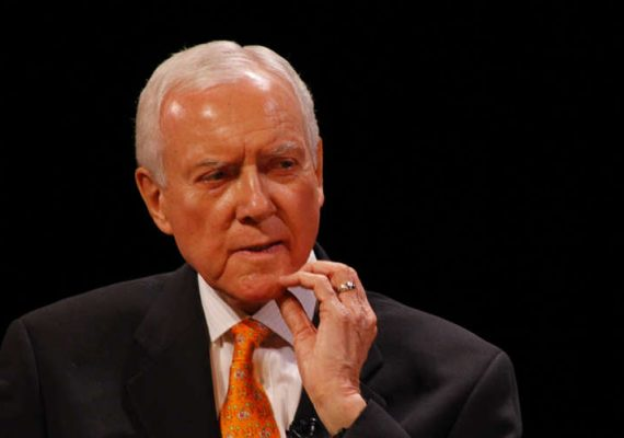 Utah Senator Orrin Hatch, author of PASPA.