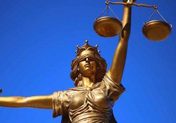 Goddess of justice Temida