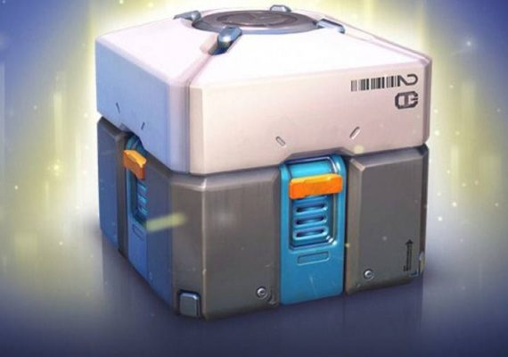 An unopened loot box.
