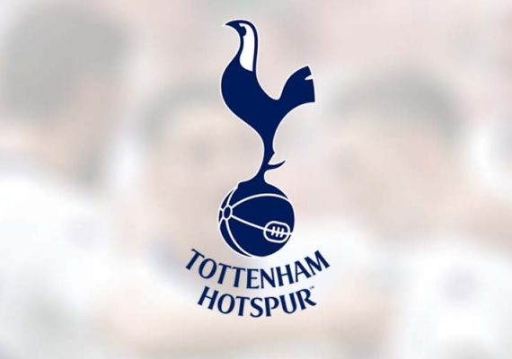 Tottenham's football club logo.