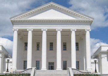 Virginia Senate from outside.