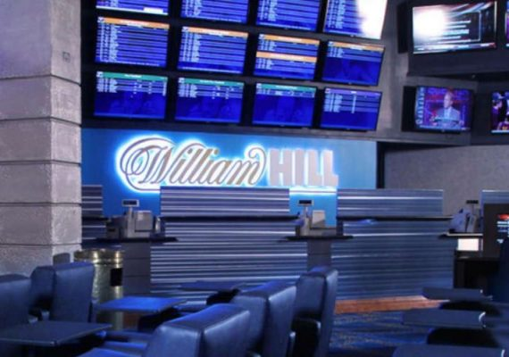 William Hill US sports betting facility.