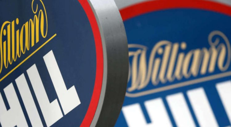 William Hill's official shop window and logo.