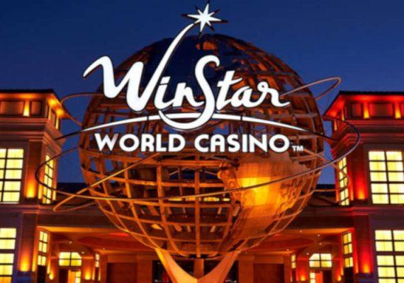 WinStar Casino front building.