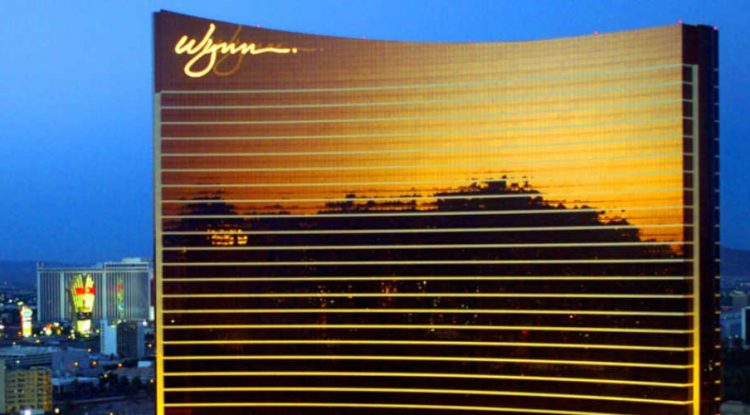 Wynn's traditional casino and hotel look.